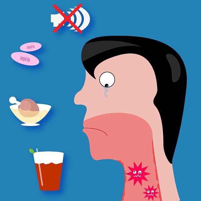 Ból gardła – domowe sposoby